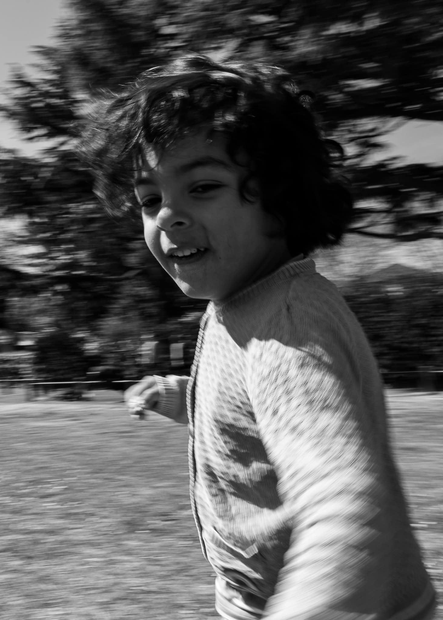Photography of child running during a photoshoot in Bromley South-East London